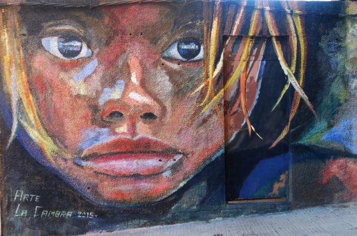 Mural en el Rincón de Arte