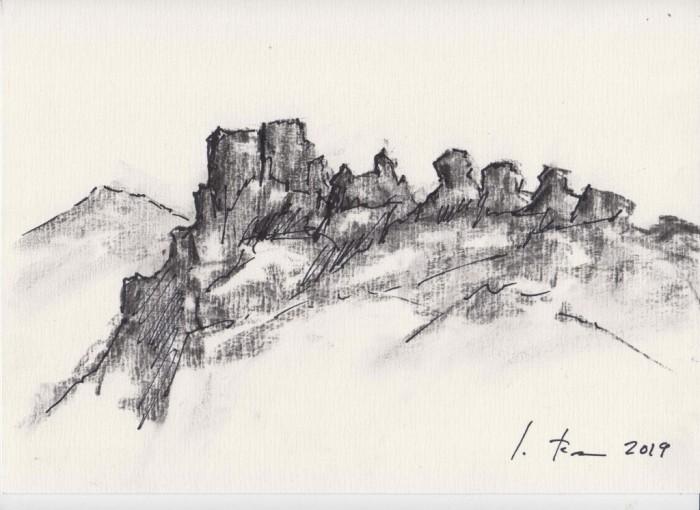El Castillo como Inspiración. Bocetos